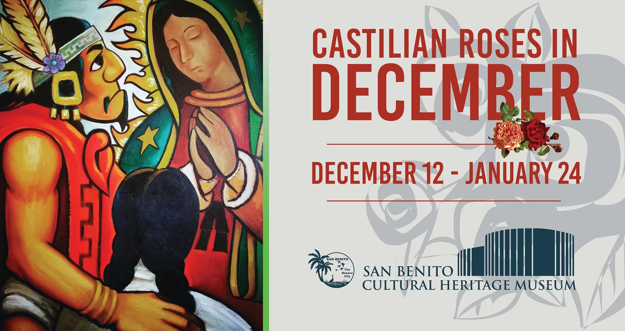 Castillian Roses in December